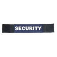 Armbinde Security blau