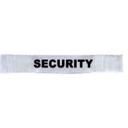Armbinde Security weiß