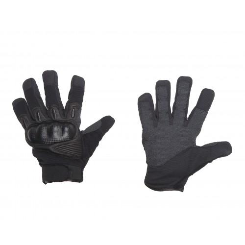 Camping & Outdoor Damen Taktische Kevlar Einsatzhandschuhe mit Protektoren und verstellbaren Verschluss